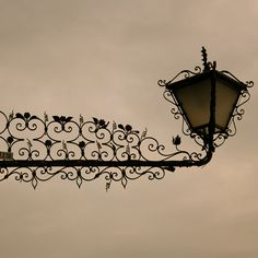wrought iron street lamp in venice by liivia s on Flickr.