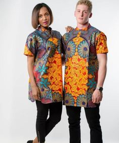 Modern Trendy Ankara Styles For Ladies Couples African Outfits, Couple Outfits, African Attire, African Wear, African Women, African Dress, African Prom Dresses, African Fashion Dresses, Ankara Fashion