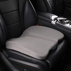 LARROUS Car Memory Foam Heightening Seat Cushion,Tailbone (Coccyx) and Lower Back Pain Relief Cushion,for Office Chair,Wheelchair and More.