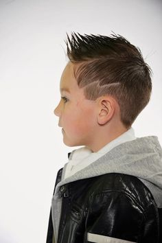 faded fohawk with lightening bolt - faded fohawk with lightening bo Toddler Boy Haircuts, Little Boy Haircuts, Toddler Hair, Cool Haircuts, Track Hairstyles, Oscar Hairstyles, Boy Hairstyles, Medium Hair Cuts, Short Hair Cuts
