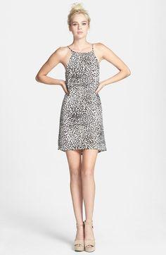 ASTR Print Tie Back Shift Dress on shopstyle.com