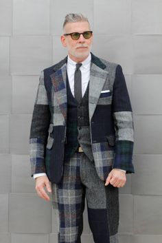 Nick Wooster out in Florence, Pitti Immagine Uomo