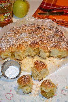 Danubio con mele e marmellata | Mela Cannella e Fantasia