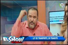 Rafael Ventura Sin Censura: Ley De Transporte En Tránsito