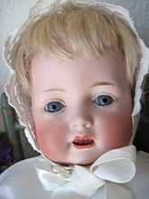 Adorable Antique Uncommon German Character Bahr Proschild Baby Doll