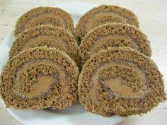 Izidor roláda. - recept Cake Roll Recipes, Dessert Recipes, Czech Desserts, Czech Recipes, Noel Christmas, Rolls Recipe, Nutella, Sweet Tooth, Sweet Treats