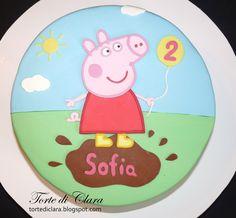 Torte di Clara: Peppa Pig cake (4)