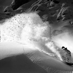 Powder dreams.. Retallack bc with @dannykass slashing in style. Winter Fun, Winter Sports, Winter Snow, Snowboarding Photography, The Mountains Are Calling, Skiing, Around The Worlds, Adventure, Ski