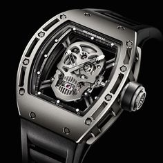 Richard Mille Tourbillon RM 052 Skull Watch