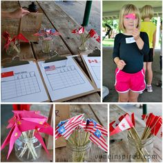 Olympic Party Time: long jump, shot put, discus, javelin and the relay race. Really cute ideas! Kids Olympic Party @ voneinspired.com