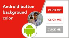 How to Change the Background Color of a Button in Android using ColorSta. Button Click, Android Video, Android Studio, Colorful Backgrounds, Buttons, Change, Videos, Video Clip, Knots
