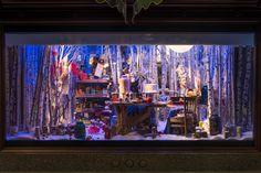 Harrods Christmas Windows, 2014 | TWG Tea by Millington Associates | Holiday Windows