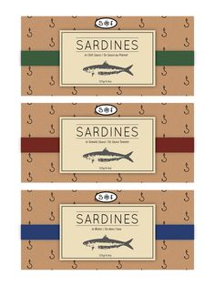 S & F Sardines | Package Redesign on Behance
