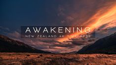 AWAKENING | NEW ZEALAND 4K. Part I/IV of a timelapse series through the always changing landscapes of New Zealand. Shot over 4 month, travel...