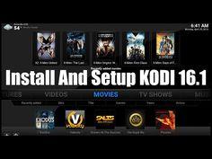 Install and Setup Kodi 16.1 ~ April 2016   KODI XBMC