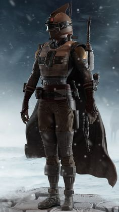 Star Wars Bounty Hunter, Arte Sci Fi, Star Wars The Old, Images Star Wars, Female Armor, Star Wars Outfits, Star Wars Concept Art, Star Wars Rpg, Sci Fi Characters