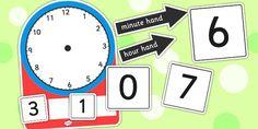 Analogue and Digital Clock Teaching Activity