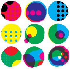 Dots in dots! Dot Day inspiration: Anat Rodan art