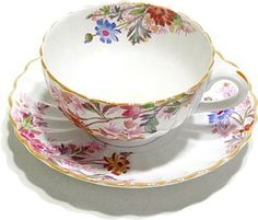 "MY ABSOLUTE FAVORITE!  Vintage Spode Copeland China ~ England ~ ""Chelsea Garden"" ~ MY CHINA FROM MY MOTHER-IN-LAW!!!"