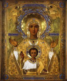 Иконы Божьей Матери Знамение. 23 ноября - 21 декабря