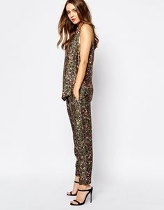 BOSS Orange co-ord Trousers in Floral Print
