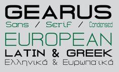 GEARUS Free Font Family #freepsdfiles #photoshoppsd #uikits #psdtemplates #vectorgraphics #psdbackgrounds