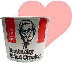 Kentucky Fried Chicken Bucket - when I was a kid it was not KFC, they spelled the name out (it was a big deal when we got fast food, especially a big family sized meal) Kfc Original Recipe, Chicken Bucket, Big Bucket, Colonel Sanders, Kentucky Fried, Go Big Blue, Fried Chicken Recipes, Meat Recipes, My Old Kentucky Home