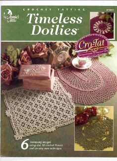 Gallery.ru / Фото #1 - Timeles Doilies crotat - mula...FREE BOOKLET AND PATTERNS!!