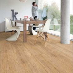 Gerflor Creation 30 - Swiss Oak Golden 0796 | Vinylboden | günstig kaufen Onlineshop Dining Chairs, Dining Table, Home Renovation, Bad, Room, Furniture, Home Decor, Dental, Living Dining Rooms