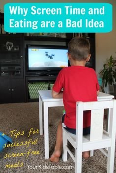 Are you in the habit of serving your child meals in front of a tv, laptop, or tablet? Learn how it could be hurting your child's eating habits more than helping.