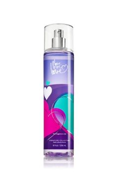 Love Love Love Fine Fragrance Mist - Signature Collection - Bath & Body Works - Different and Beautiful Ideas Bath Body Works, Bath And Body Works Perfume, Bath N Body, Bath And Bodyworks, Fragrance Mist, Perfume Fragrance, Best Perfume, Body Mist, Body Spray