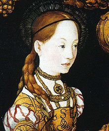 Christina of Saxony (b. Torgau, 25 December 1461 – d. Odense, 8 December was a Saxon princess who became Queen consort of Denmark, Norway, and Sweden. Medieval, Dark Ages, Saxony, Renaissance Art, Painting, Beautiful Paintings, Art Style, Portrait, Art History