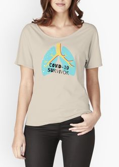 Survivor' Relaxed Fit T-Shirt by PerjocD Shirt Designs, Fitness, Fabric, Sleeves, Cotton, T Shirt, Stuff To Buy, Clothes, Tops