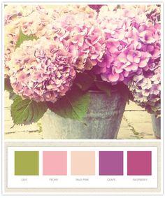 more wedding color ideas...