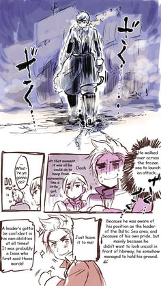 Sweden, Denmark, and Norway...Hetalia: teaching you history in awesome hilarious ways