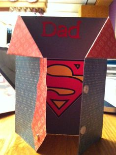Dad card for Father's day -inside