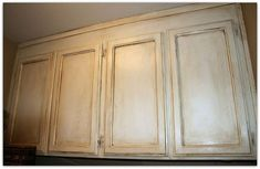 How to Paint Oak Cabinets Without Sanding or Priming. Lollypaper.com ...