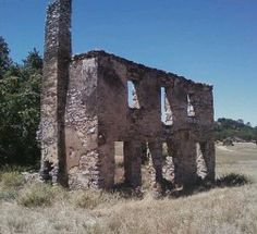 "Ruin, Ione Ca. --> Central House. My 'Grandma' Tonzi grew up there. <3 ~ Ione was originally named ""Bedbug"", it was the port to miners in Jackson.."
