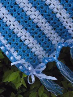 EllesHeart Loves ~ Crochet Afghans #Crochet #Afghan #Patterns #Inspiration #Blanket #Baby #Tutorials #Mileaminute #Stripe ~ Mile a minute PAP para as principiantes