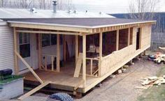 Strategy, tactics, and quick guide when it comes to receiving the ideal outcome and creating the maximum utilization of Diy Home Remodel Ideas Mobile Home Porch, Mobile Home Exteriors, Mobile Home Renovations, Mobile Home Makeovers, Mobile Home Living, Remodeling Mobile Homes, Home Remodeling, Porches, Mobile Home Addition
