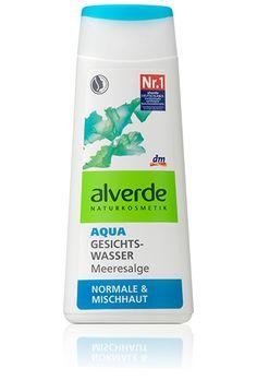 alverde Aqua Gesichtswasser Meeresalge