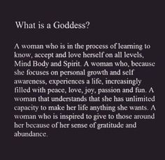 A Goddess.Self Awareness What Is A Goddess, Divine Goddess, Sacred Feminine, Divine Feminine, Feminine Energy, Affirmations, Goddess Quotes, Quotes To Live By, Life Quotes