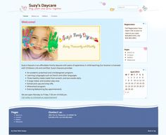 Daycare Website Childcare, Web Design, Teaching, Website, Design Web, Education, Website Designs, Learning