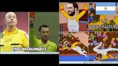 Argentina vs. Chile Higuaín y el árbitro Heber López son protagonistas de los memes - La10.pe