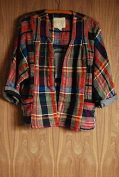 Ace & Jig Cabin Plaid Cardi | Hawthorn Shop