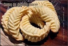 Corne de gazelle pincee nakache | Recettes de Cuisine algérienne, orientale et française