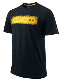 Men's LIVESTRONG Dri-FIT Graphic Tee - Black