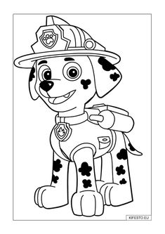 Explore Paw Patrol Coloring Pages. the Best Free Printable Paw Patrol Coloring Pages Collections. Discover Anti-stress Paw Patrol Coloring Pages Included Random Difficult Levels and Print them all Easily. ONLY COLORING PAGES Paw Patrol Marshall, Zuma Paw Patrol, Rubble Paw Patrol, Paw Patrol Party, Paw Patrol Birthday, Paw Patrol Coloring Pages, Truck Coloring Pages, Coloring Pages For Boys, Coloring Pages To Print