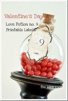 love potion printables