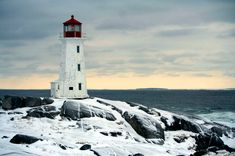 lighthouses in winter: point_of_no_23